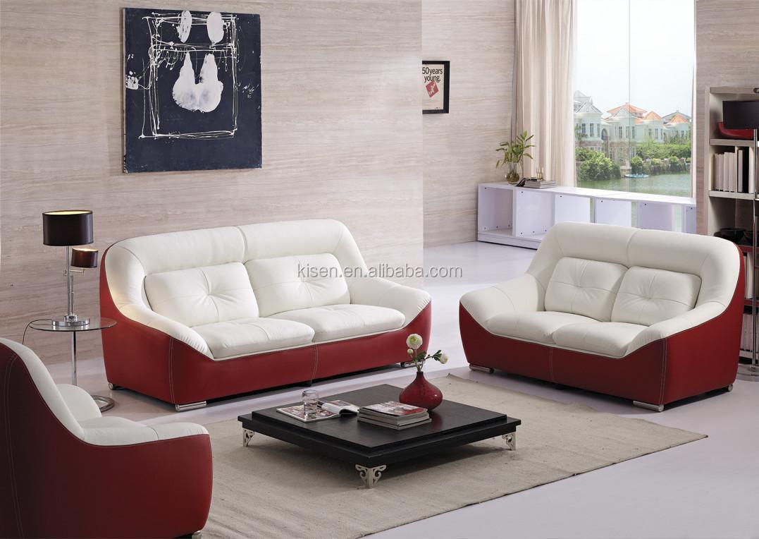 kq2019 neuen design moderner ledersofas f r die m bel. Black Bedroom Furniture Sets. Home Design Ideas