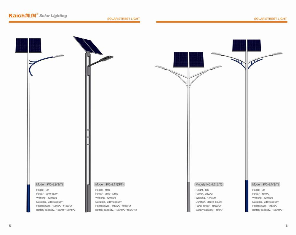 2014 Solar Energy Power Led Street Light And Garden Light