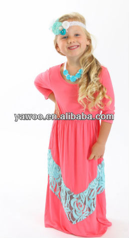 Kids Wholesale Chevron Maxi Dress Kids Wholesale Chevron Maxi ...