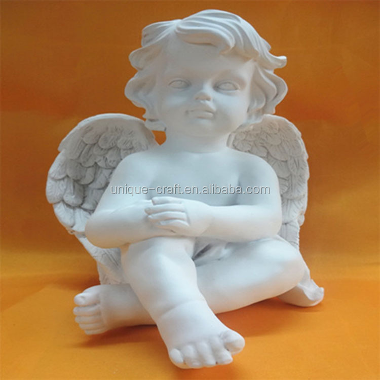 Resin Material and Garden Decor Use resin baby angel