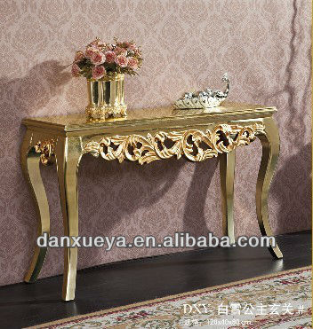 Danxueya Gold Antique Console Table From Dxy Furniture Factory Excellent In Quality Home Classic