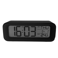 Radio Controlled Big Digit Table Alarm Clock