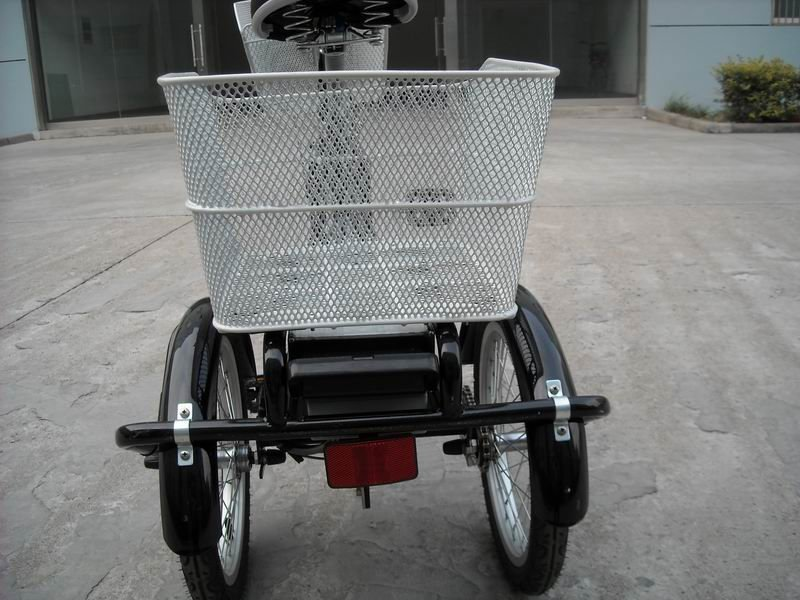 350W Three wheel Electric tricycle ,bicycle strong electric bike battery power electric bike Li-ion e-bike, KTN-004