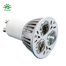 CE ROHS proved led spot 3w 15 degree led spotlight gu10
