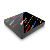 Uuvision Android tv box 8,0 os H96 MAX + 4 + 64G WiFi 2,4g/5g RK3328 penta-Core Set top box