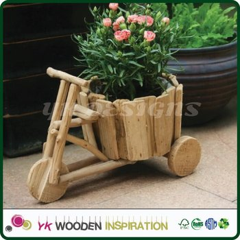Lawn Garden Carts Light Weight Decoration Smart Pot Gardening