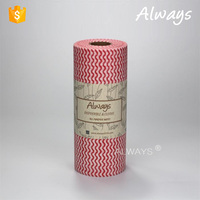Disposable Removal Oil Nonwoven Roll Kitchen Cleaning Dry Wipes