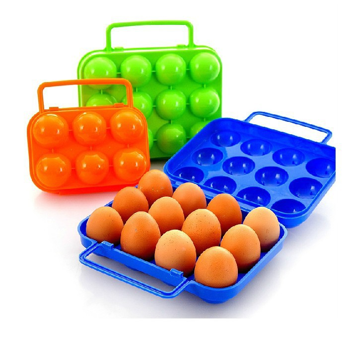Shockproof portable equipment outdoor picnic egg cartons egg tray egg box mounted refrigerator 12 6 Optional