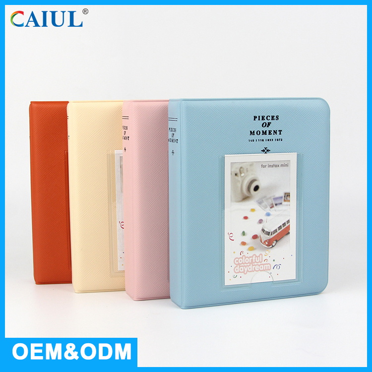Pink / Beige / Blue / Orange 6X4 Plastic Material Paper Photo Album Price
