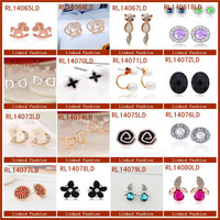 Unique and popular earring costume jewelry accessories