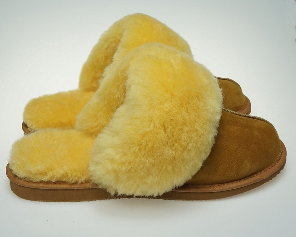 Sale !!! Women's Natural Genuine Leather Sheepskin Relugan, Wool, Slippers, Shoes Boots Very Light and Comfy! Good Gift! Natural