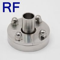 RF Sanitary Stainless Steel Aseptic Pipe Fittings Flange