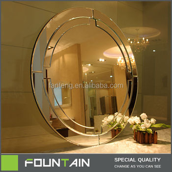 Round Large Wall Mounted Decoration Mirror Mirrors For