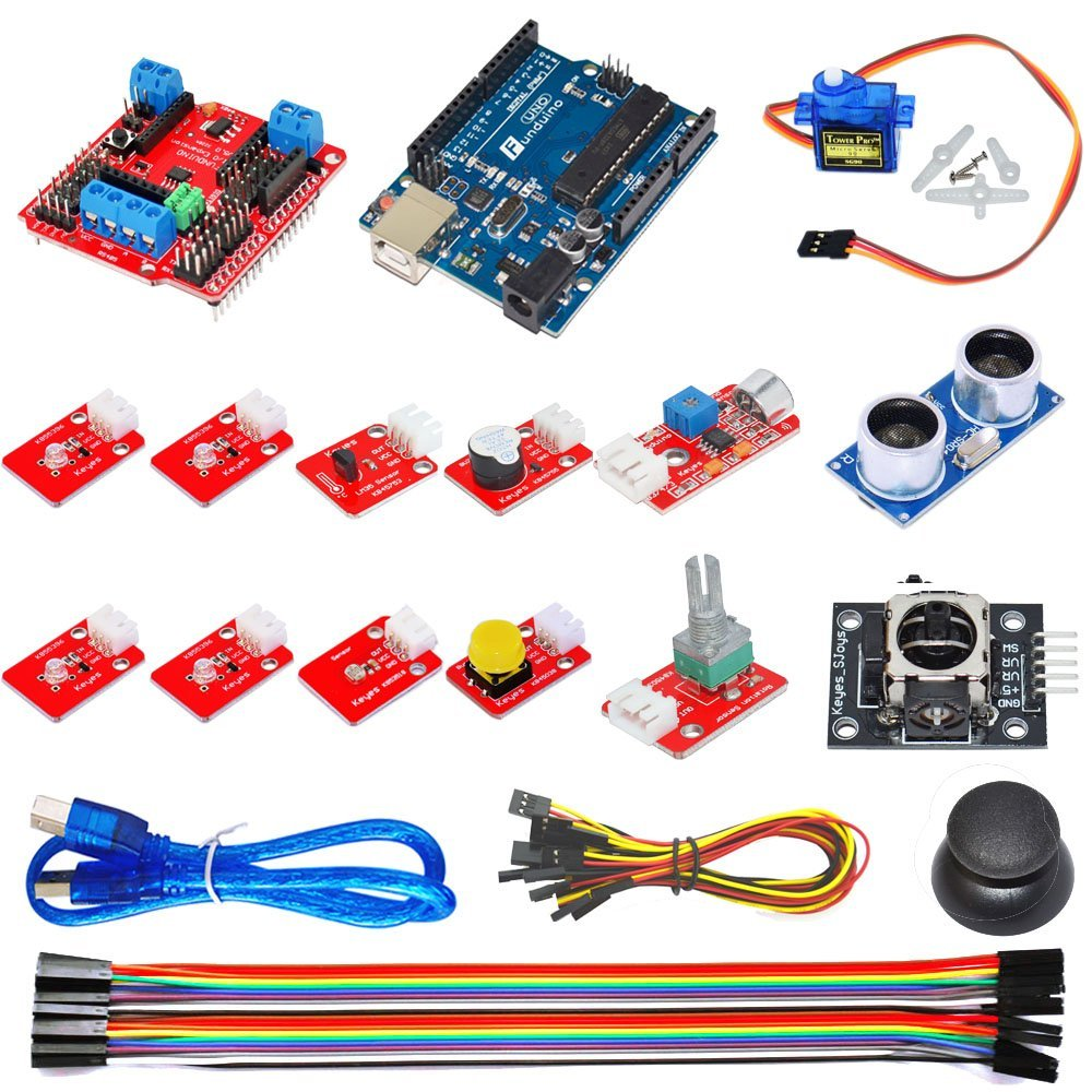Keyes - Ardublock Graphical Programmin Glearning Kit Zero Basics Arduino