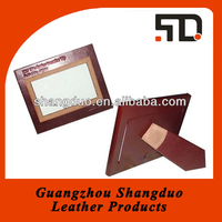 China Factory Price High Quality Handmade Leather Picture Frame