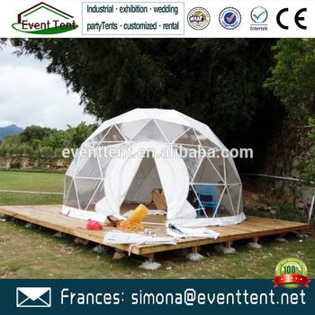 c&ing luxury dome tent wind proof beach tent with wooden floor & Camping Luxury Dome Tent Wind Proof Beach Tent With Wooden Floor ...