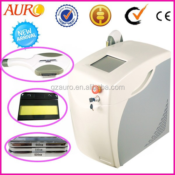 4 in 1 diamond microdermabrasion + photo + cold hot hammer facial care beauty machine Au-703A
