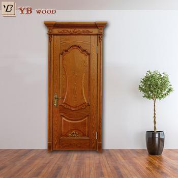 Alibaba Trade Assurance Paint Colors Living Room House Door Sign Wooden Design Traditional Indian Interior Oak Doors Ybvd6020 Buy Interior Oak