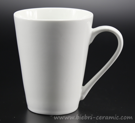 001 10oz Plain White Bulk Style Custom Available Porcelain Coffee Mugs For Promotion