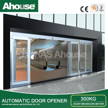 Ahouse Dc 24v Automatic Sliding Door Rail Glass Sliding Door Kit