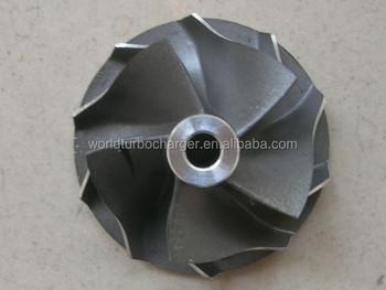 Rhf3 Vl20 Vl36 Vl38 Vl27 Ck30,Ck35 Turbocharger Compressor Wheel - Buy  Turbocharger Compressor Wheels,Ihi Compressor Impeller,Rhf3 Turbo Product  on