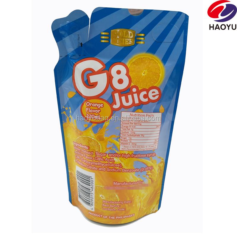 Capri Sun Fruit Juice Pouch/juice Pouch Manufacturers /plastic Straw Bag -  Buy Plastic Straw Bag,Bag With Straw,Juice Pouch Manufacturers Product on