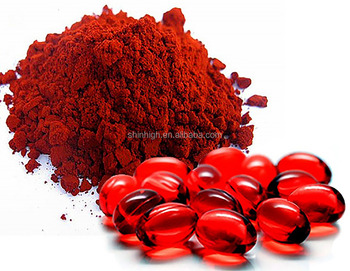 Haematococcus pluvialis extract 100% Pure astaxanthin powder