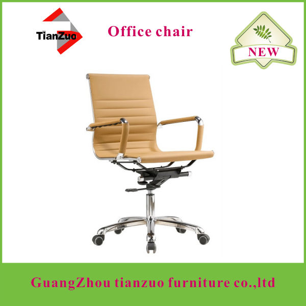TIANZUO WF04 thin PU hot selling computer and office chairs with wheels