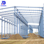 low cost prefabricated structural steel warehouse