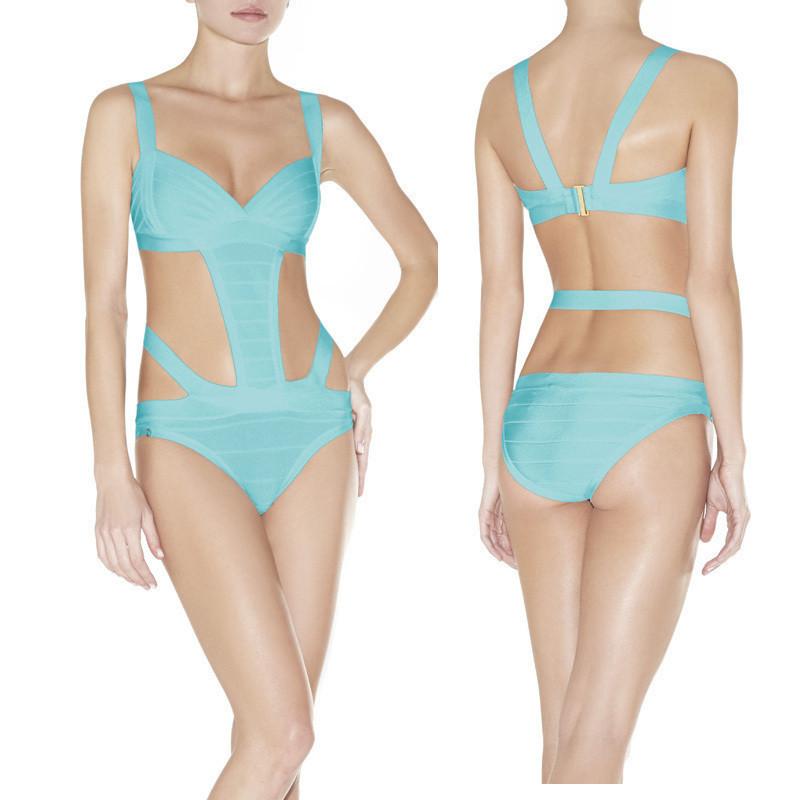 dee6de31a Get Quotations · 5 Colors Women Beach Fashion Summer Sexy Bandage Bikini  2014 Bodycon HL Bandage Bikini Bandage Bathing