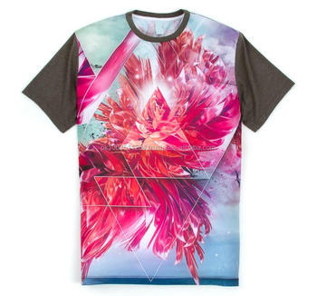 Custom dye sublimated printing shirts custom all over for All over dye sublimation t shirt printing
