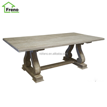 FN-5057 french elm dress home furniture wood dining room table