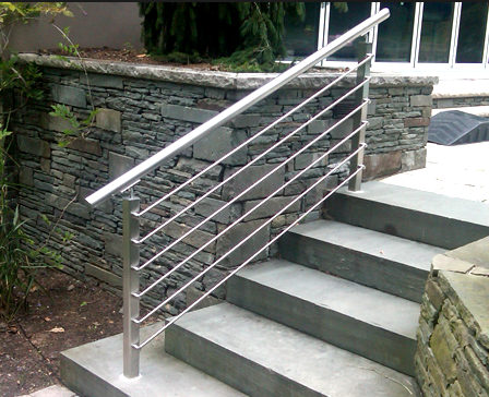 Stainless Steel Rod Railing Steel Grill Design For Balcony Buy Stainless Steel Seamless Rod