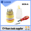 2016 popular 31 in 1 Strong magnetic electrical insulated computer repairing screwdriver tool set