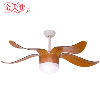 2018 Save Energy 5 Blades 220V Cooling Remote Control Ceiling Fan With Led Lights