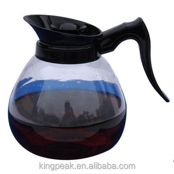 2019 Hot Sale borosilicate glass coffee pot/Replacement Glass Carafe/12-Cup Glass Coffee Decanter