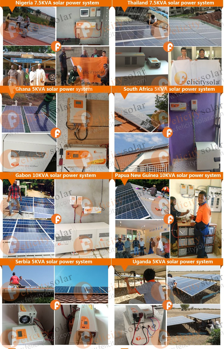 Felicity Solar Chinese Supplier High Quality 60a Mppt
