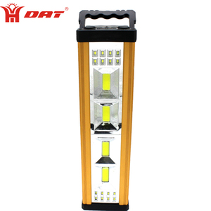 12w COB Aluminum alloy high power home usage led rechargeable emergency light
