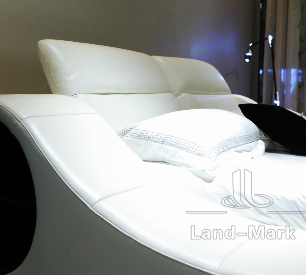 Woonkamer moderne lederen sofa/hot koop nieuwe ontwerp slaapkamer ...