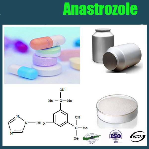 Best Quanlity antibiotic Anastrozole / Arimidex / CAS No.:120511-73-1 raw Material