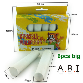 Government bid big sidewalk school Dustless Calcium carbonate white Color Chalk