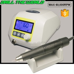 250W 60000 rpm compact design portable brushless micro motor brushless electrical lapidary machine