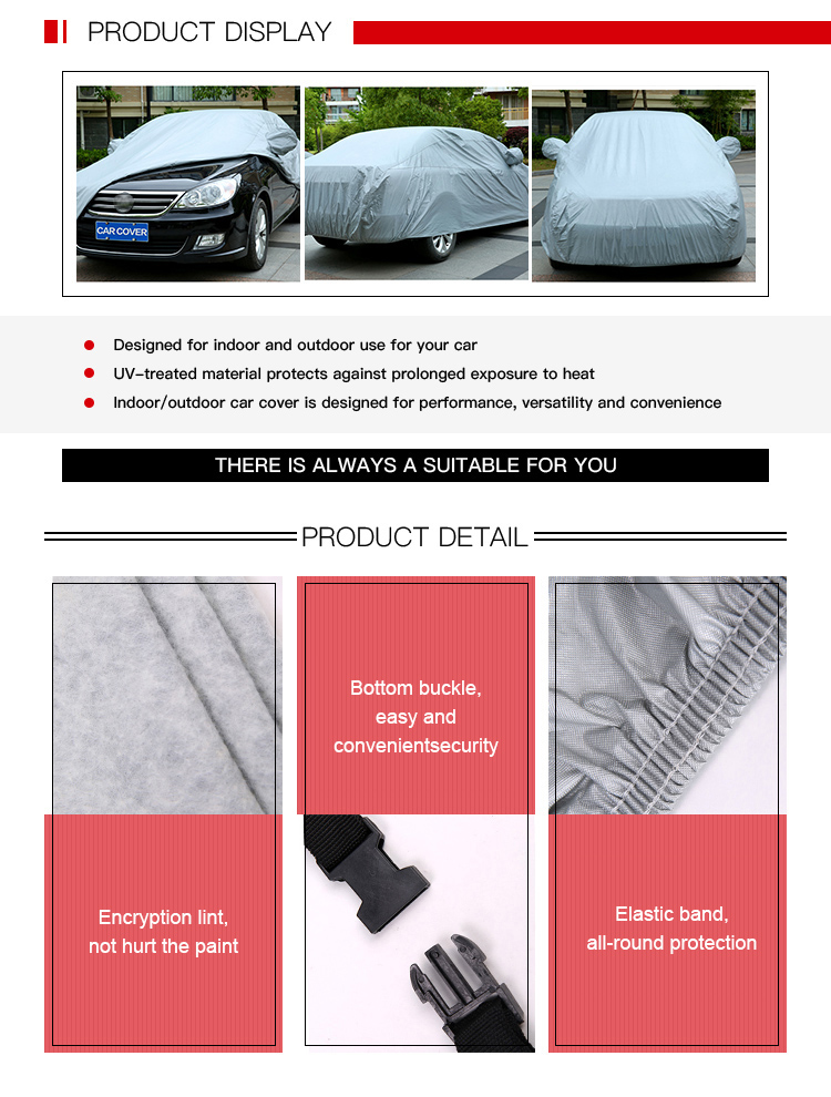 Low Priced Medium Size Waterproof Car Cover