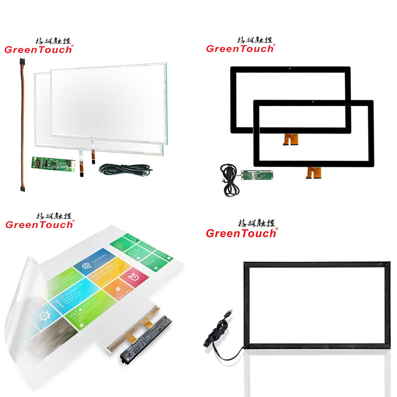 47 inch Interactive Touch Foil, Display with projector or LCD monitor, no drift, software calibration