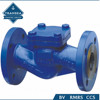 High quality flapper type check valve WCB hydraulic check valve