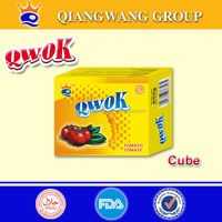 10G/CUBE*60*12 HALAL CURRY FISH /CREVETTE COOING CUBE SEASONING CUBE BOUILLON SEASONING CUBECUBE CUBE WENDY WEN
