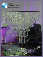 Bling wedding decoration crystal cake table ZT-278