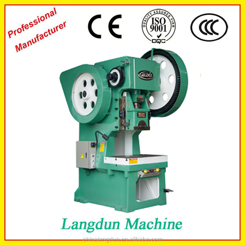 J23 Series 60ton Mechanical Power Press, machine Punch Press Machine For Aluminum,Punching Machine Good Qualtiy Power