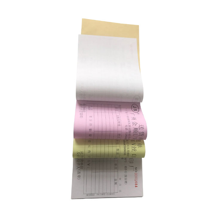 Cheap price OEM custom Invoice book receipt note printing for hotel breakfast