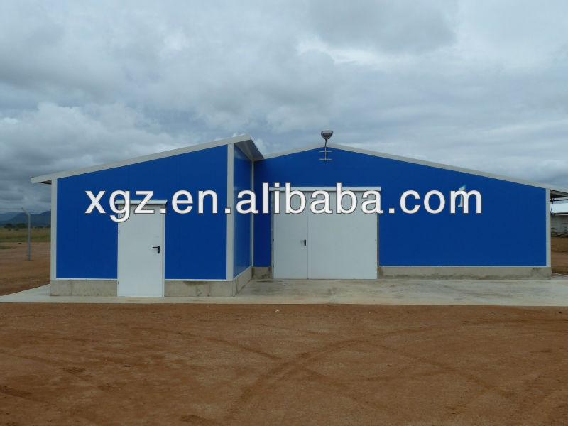 Chicken broiler house design